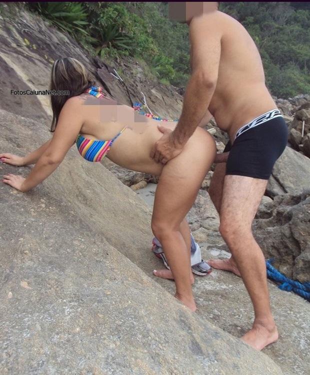 Sexo Com Esposa Do Corno Na Praia