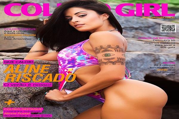 Revista Colirio Girl – Aline Riscado