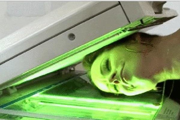 Fodendo a Safada Na Impressora