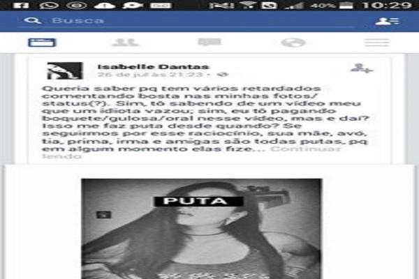 Isabelle Dantas Pagando Boquete Caiu Na Net