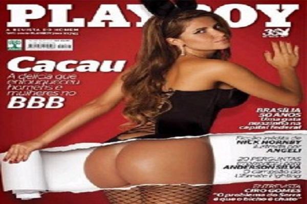 Playboy Abril De 2010: Cacau BBB 10