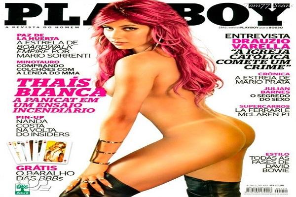 Playboy Abril De 2013: Thaís Bianca