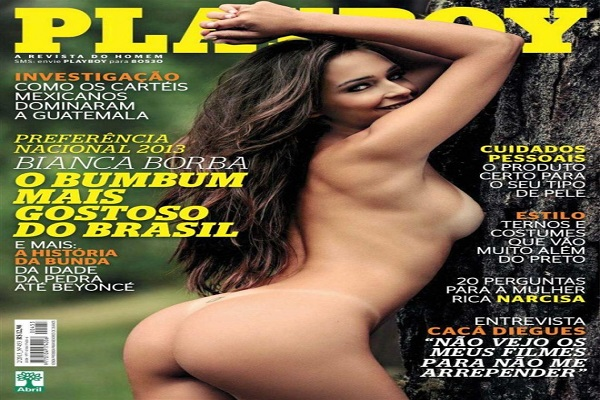 Playboy Fevereiro De 2013: Bianca Borba