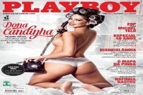 Playboy Fevereiro De 2015: Nuelle Alves