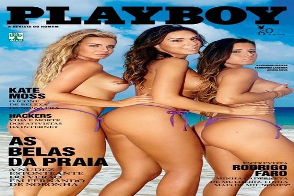 Playboy Janeiro De 2014: As Belas Da Praia