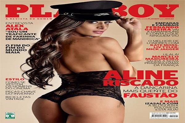 Playboy Junho De 2012: Aline Riscado