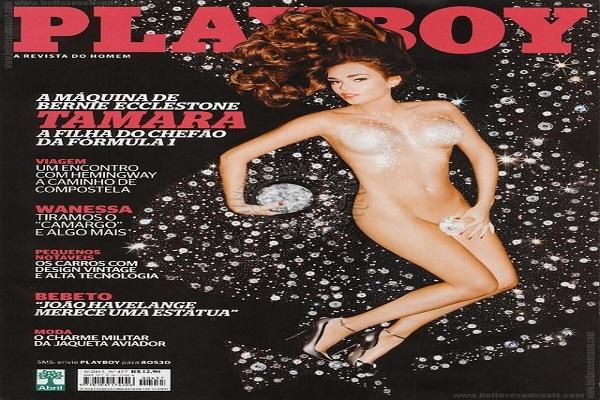 Playboy Junho De 2013: Tamara Ecclestone