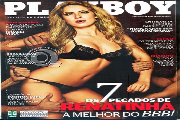 Playboy Maio De 2012: Renata BBB 12