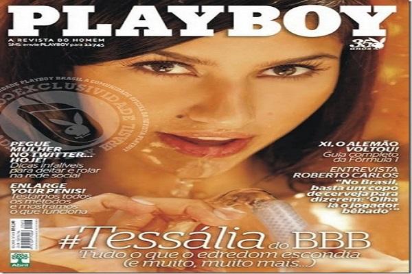 Playboy Março De 2010: Tessália BBB 10