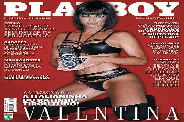 Playboy Março De 2012: Valentina Francavilla