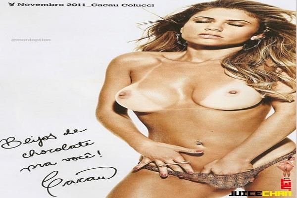 Playboy Novembro De 2011: Cacau BBB 11