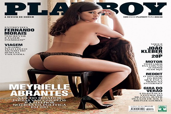 Playboy Novembro De 2013: Meyrielle Abrantes