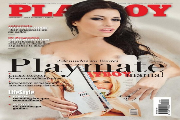 Playboy Novembro De 2014: Laura Cattay