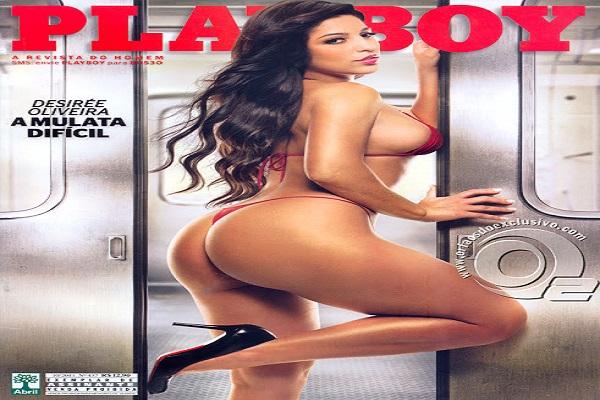 Playboy Outubro De 2011: Desirée Oliveira
