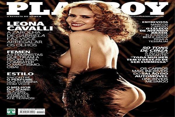 Playboy Outubro De 2012: Leona Cavalli