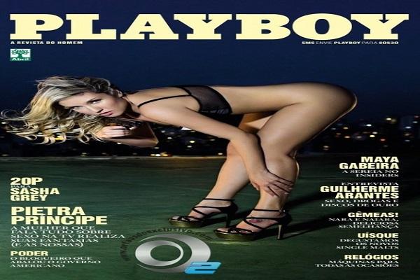 Playboy Outubro De 2013: Pietra Principe