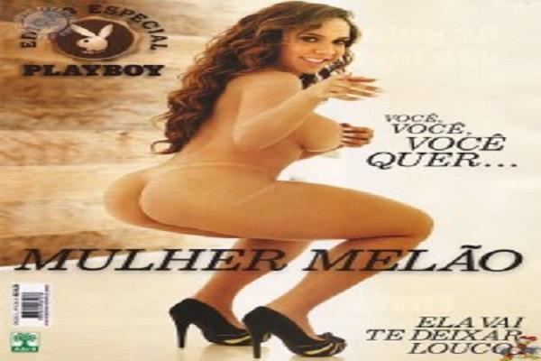 Playboy Setembro De 2011: Mulher Melão