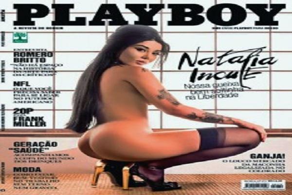 Playboy Setembro De 2014: Natalia Inoue