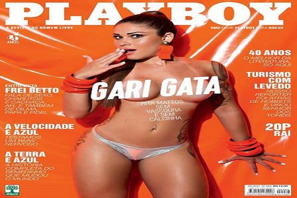 Revista Playboy Setembro De 2015: Gari Gata