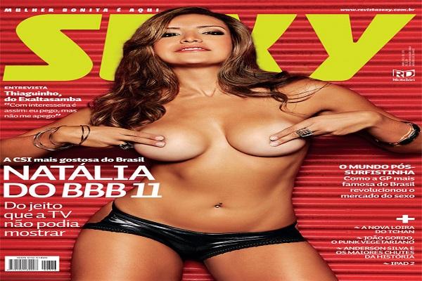 Revista Sexy Abril De 2011: Natalia Castro