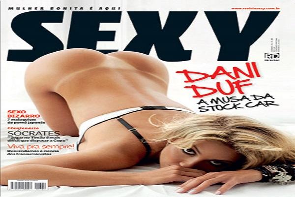 Revista Sexy De 2010: Dani Duf