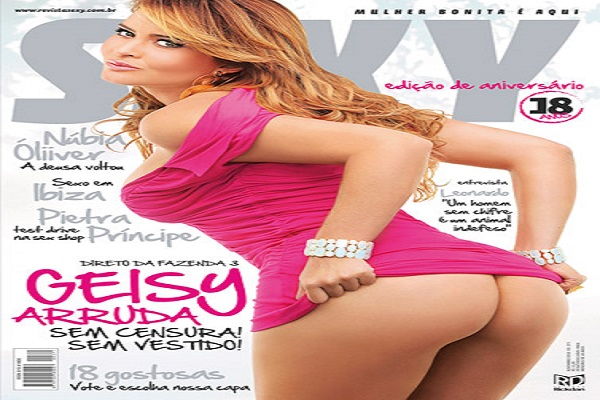 Revista Sexy De 2010: Geisy Arruda
