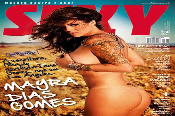 Revista Sexy De 2010: Mayra Dias Gomes