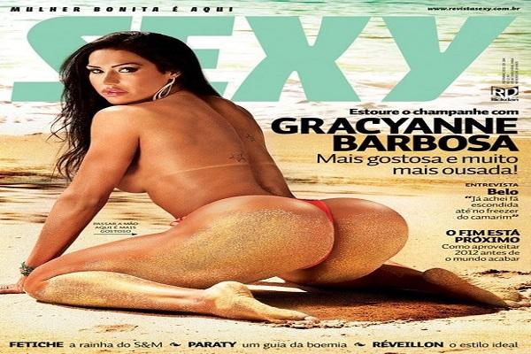 Revista Sexy Dezembro De 2011: Gracyane Barbosa