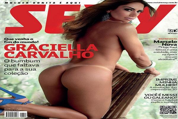 Revista Sexy Dezembro De 2012: Graciella Carvalho