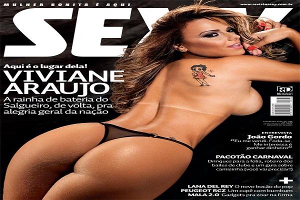 Revista Sexy Fevereiro De 2012: Viviane Araujo