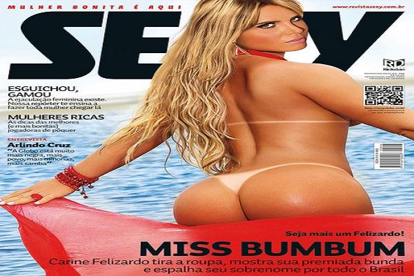 Revista Sexy Fevereiro De 2013: Carine Felizardo