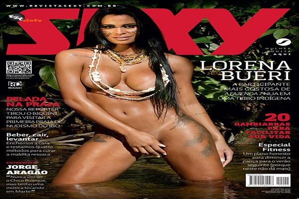 Revista Sexy Fevereiro De 2015: Lorena Bueri