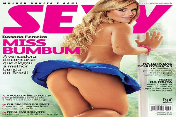 Revista Sexy Janeiro De 2012: Rosana Ferreira