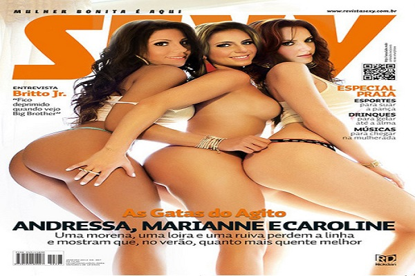 Revista Sexy Janeiro De 2013: As Gatas Do Agito