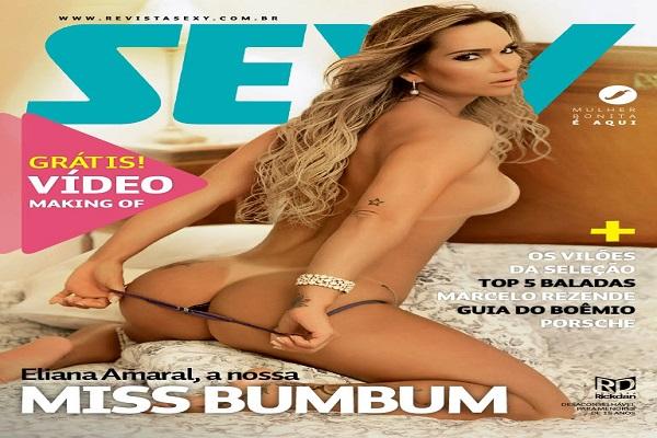 Revista Sexy Janeiro De 2014: Eliana Amaral