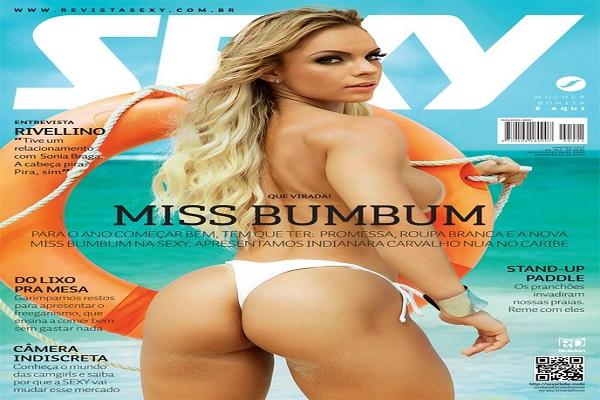 Revista Sexy Janeiro De 2015: Indianara Carvalho