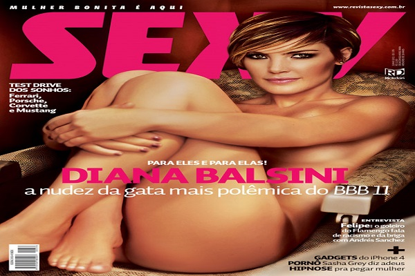 Revista Sexy Junho De 2011: Diana Balsini