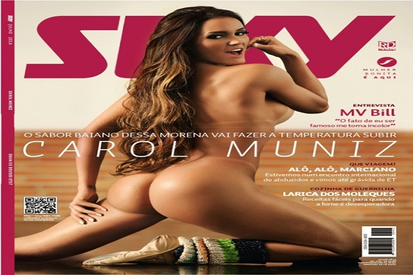 Revista Sexy Junho De 2014: Carol Muniz