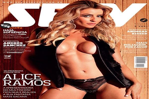 Revista Sexy Junho De 2015: Alice Ramos