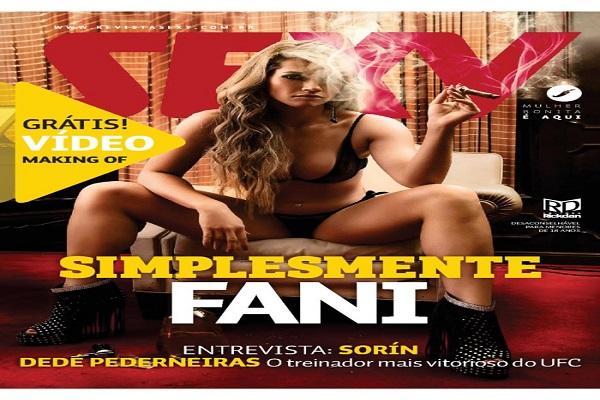 Revista Sexy Maio De 2014: Fani Pacheco