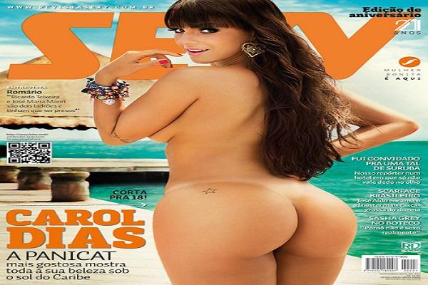 Revista Sexy Novembro De 2013: Carol Dias