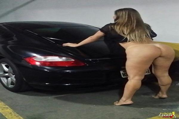 Fotos Da Esposa Rabuda Pelada No Estacionamento
