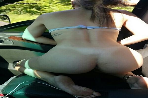 Fotos Da Namorada Ninfeta Pagando Boquete Dentro Do Carro