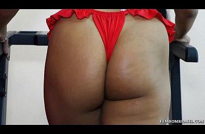 Sexo Anal Com Brasileira Rabuda